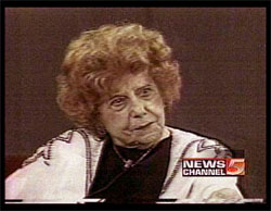 the legendary Dorothy Fuldheim in 1980