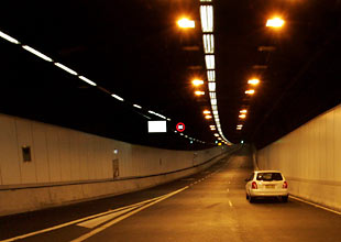 empty Cross-City Tunnel (image: news.com.au)