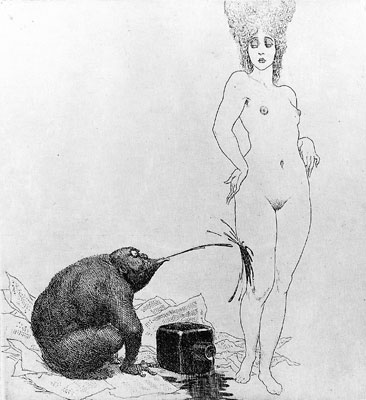 image: Journalism and Art, Norman Lindsay, 1999