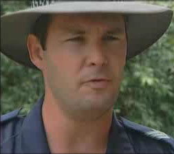Queensland Police Senior Sergeant Chris Hurley (image: ABC TV)